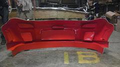 Orange tooling polyester gelcoat, polyester resin, fiberglass, carbon fiber