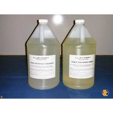 Clear Table Top Epoxy Resin (1 Gallon Resin, 1 Gallon Hardener)